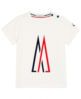 Camiseta Bebe MONCLER Logo