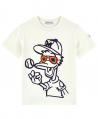 Camiseta Niño MONCLER Marfil Pato