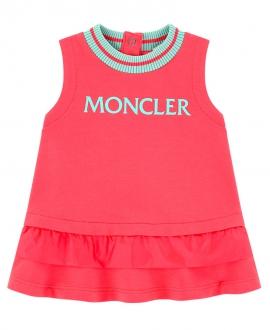 Vestido Bebe Niña MONCLER Coral