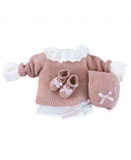Conjunto Canastilla RO INFANTIL Rosa