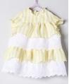 Mini Amarillo Bebé Niña NANOS Rayas