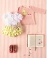 Jersey Punto Rosa Bebé Niña NANOS Pollito