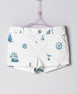 Pantalón Azul Bebé Niño NANOS Barcos