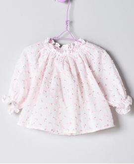 Blusa Plumeti Rosa Bebé Niña NANOS