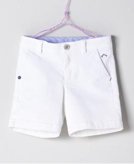 Pantalón Blanco Niño NANOS