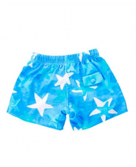 Boxer Baño Niño AL AGUA PATOS Star Azul