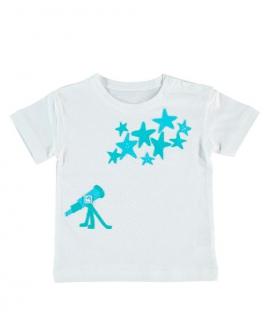Camiseta Niño AL AGUA PATOS Star Azul