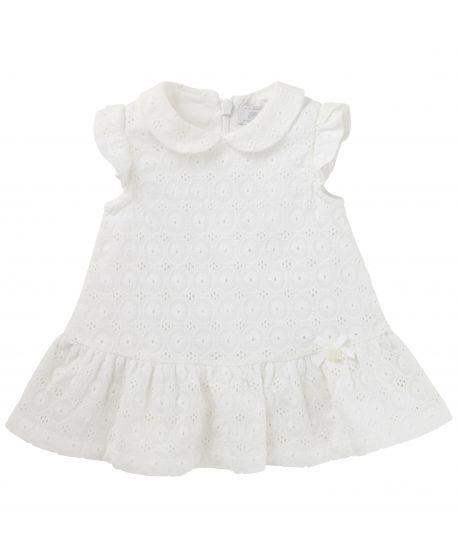 Vestido Tartine et Chocolat Bebé Niña Blanco