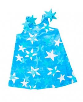 Vestido Niña Lycra AL AGUA PATOS Star Azul