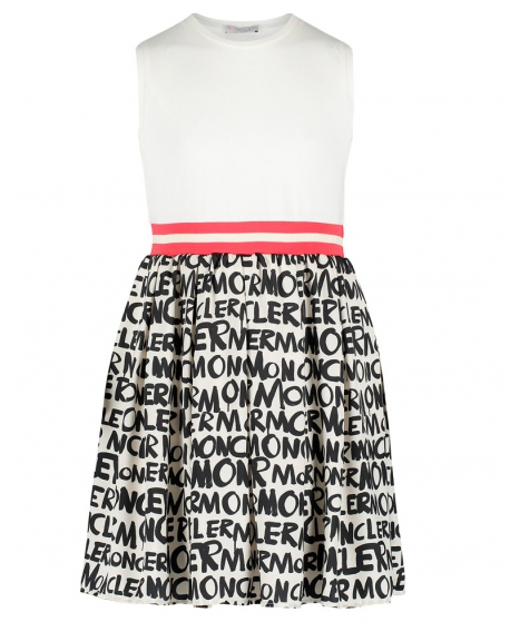 Vestido Niña MONCLER Falda Letras