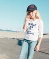 Camiseta Niña ZADIG & VOLTAIRE Blanca Texto