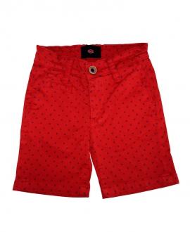 Pantalón Corto Niño BUGATTI Rojo