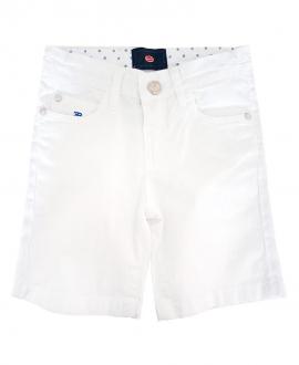 Pantalón Corto Niño BUGATTI Blanco