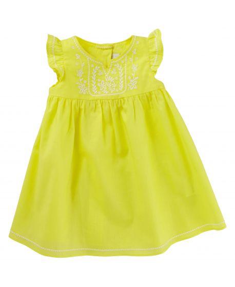 Vestido Tartine et Chocolat Bebé Niña Amarillo