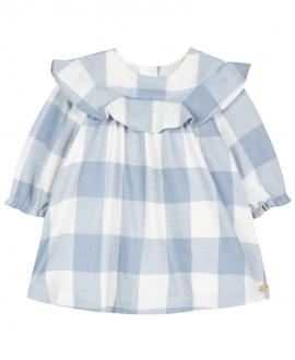Vestido Bebe Niña TARTINE ET CHOCOLAT Cuadros Azul