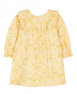 Vestido Bebe Niña TARTINE ET CHOCOLAT Flores Amarillo