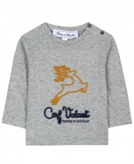 Camiseta Bebé Niño TARTINE ET CHOCOLAT Gris Reno