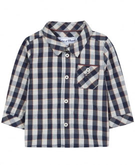 Camisa Bebé Niño TARTINE ET CHOCOLAT Marino