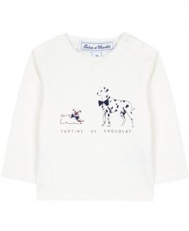 Camiseta Niño TARTINET ET CHOCOLAT Perros