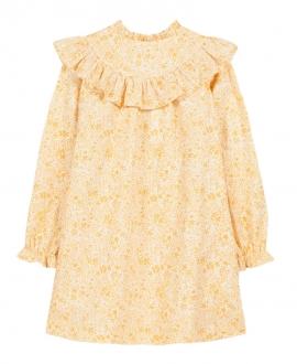 Vestido Niña TARTINE ET CHOCOLAT Amarillo Flores