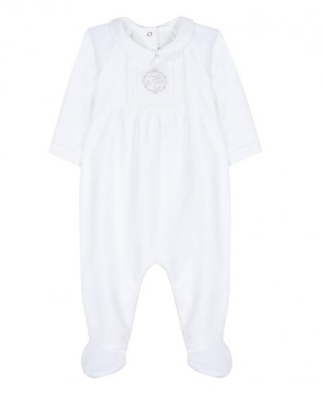 Pijama Bebe TARTINE ET CHOCOLAT Blanco TC Bordado