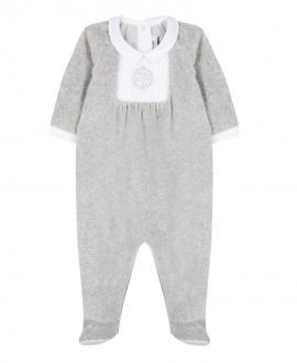 Pijama Bebe TARTINE ET CHOCOLAT Gris TC Bordado