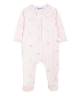 Pijama Bebe TARTINE ET CHOCOLAT Rosa Flores