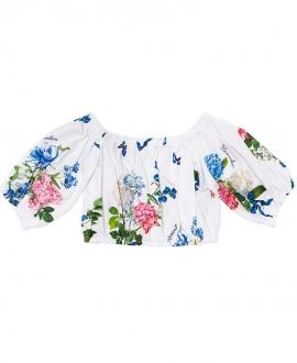 Top Niña MONNALISA Estampado Bouquet