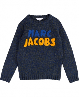 Jersey Niño LITTLE MARC JACOB Marino y Caqui