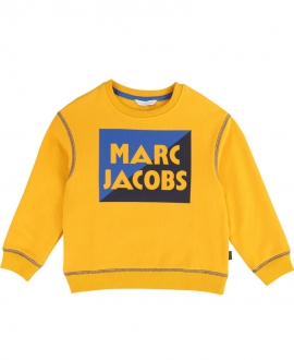 Sudadera Niño LITTLE MARC JACOB Amarillo Logo