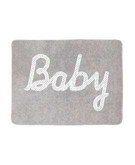 Alfombra Lavable Lorena Canals Baby Petit Point Gris