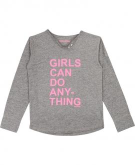 Camiseta Niña ZADIG & VOLTAIRE Gris 'Girls'