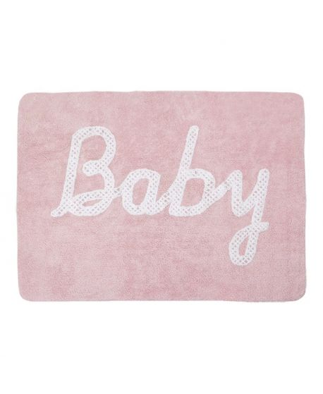 Alfombra Lavable Lorena Canals Baby Petit Point Pink