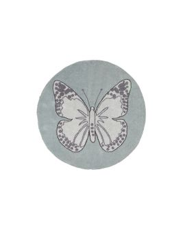 Alfombra Lavable Lorena Canals Butterfly Green