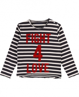 Camiseta Niño KARL LAGERFELD Fight 4 Love