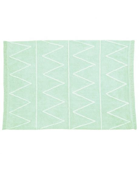Alfombra Lavable Lorena Canals Hippie Mint
