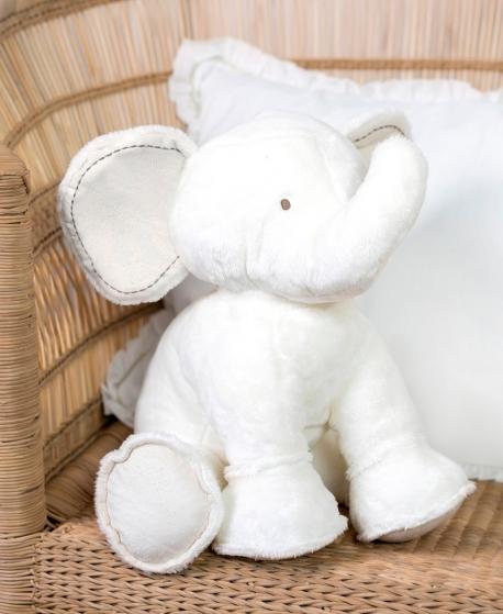 Peluche Ferdinand, l'Elephant Crudo (25cm)