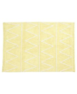 Alfombra Lavable Lorena Canals Hippie Yellow