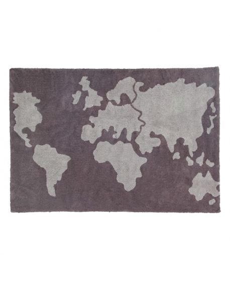 Alfombra Lavable Lorena Canals World Map