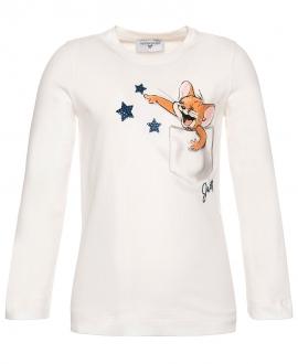 Camiseta Niña MONNALISA Estampado Jerry Bolsillo