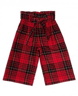 Pantalón Niña MONNALISA Rojo y Negro