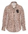 Camisa Niña MONNALISA Estampado Leopardo