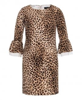 Vestido Niña MONNALISA Estampado Leopardo
