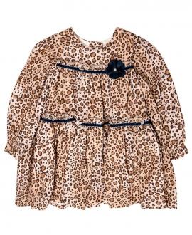 Vestido Bebé Niña MONNALISA Leopardo