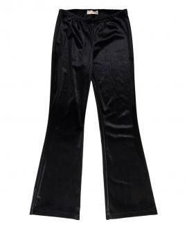 Pantalón Niña MONNALISA Terciopelo Negro