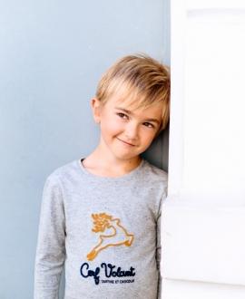 Camiseta Niño TARTINE ET CHOCOLAT Gris Reno