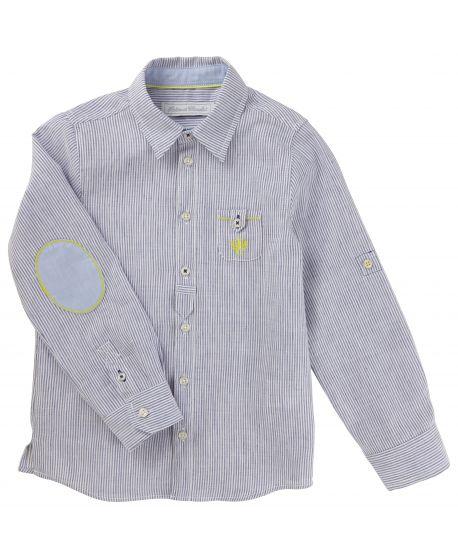 Camisa Tartine et Chocolat Niño Rayas Azul