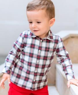 Camisa Bebé Niño TARTINE ET CHOCOLAT Cuadros