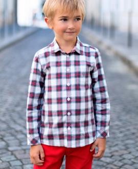 Camisa Niño TARTINE ET CHOCOLAT Cuadros
