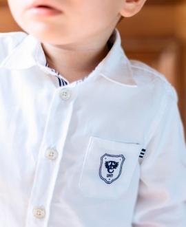 Camisa Bebé Niño TARTINE ET CHOCOLAT Blanca